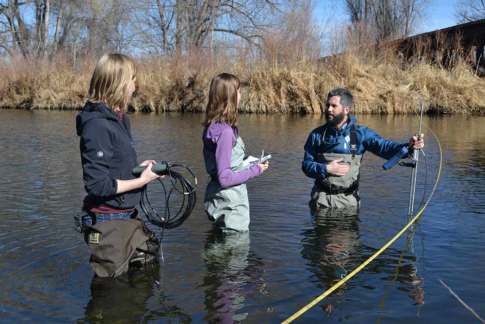 river water sampling and testing