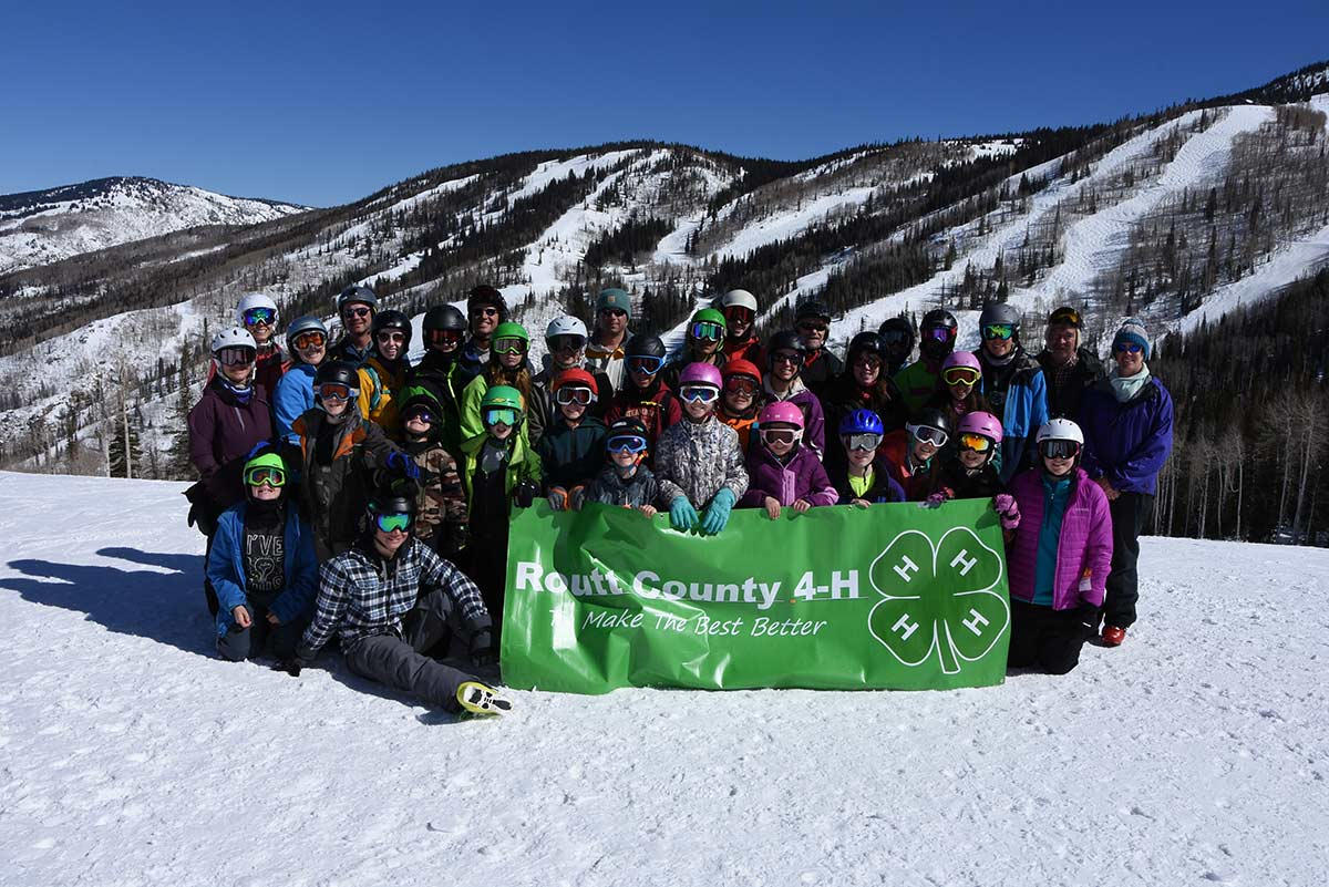 2018 Routt County 4-H Ski Day