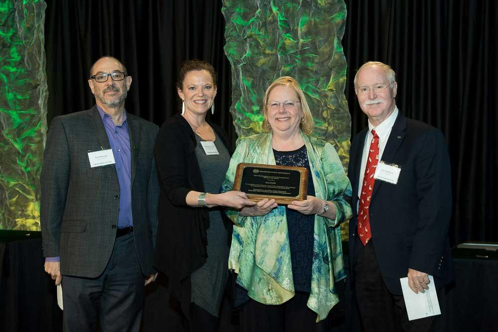 B Sharp program, recipiant of the 2018 CSU Community Engagement Scholarship Award
