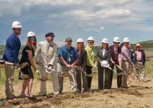 Groundbreaking Ceremony for Collaboration Campus